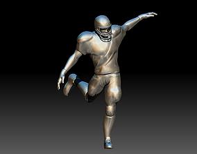 3D print model American footballer Pose