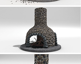 3D model Fireplace-collection