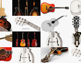 3D Gibson Acoustic Instruments