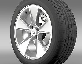 3D model Dacia Logan wheel