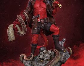 Hellboy 3d print model comics BPRD