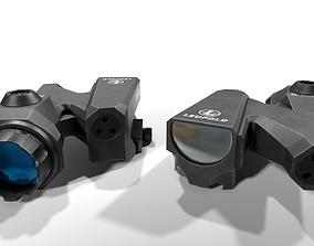 Leupold D-EVO Dual Enhanced View Optic 6x 3D model