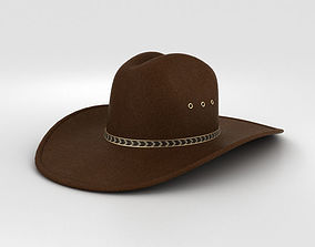 accessories Cowboy Hat 3D