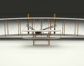 3D Animated Wright Flyer 1903