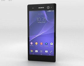 3D Sony Xperia C3 Black
