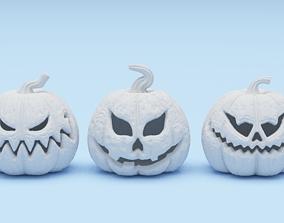 3D printable model 5 Pumpkins pack