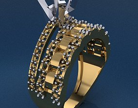 Halka 40 3D printable model wedding