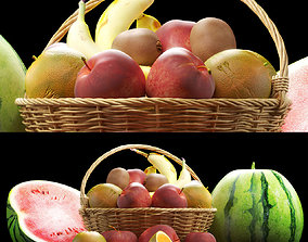 3D Fruits set 1