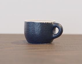 3D model Simple modern ceramic cup
