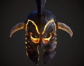Helm No8 3D asset