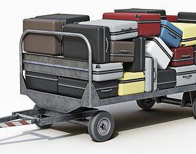 3D Baggage Carts