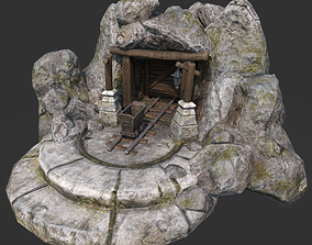 3D model Mine GameDev