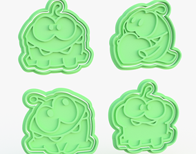 Cut the Rope cookie cutter set of 4 3D print model