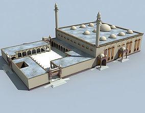 Arabic Mosque Building desert 3D model