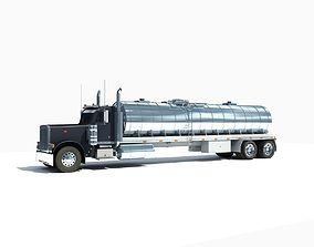 3D model Dark Tanker Truck V21