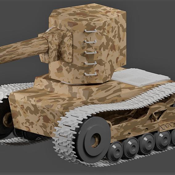 kv 2 russian battle tank