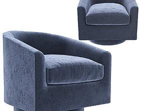 3D Mary Jane Swivel Chair