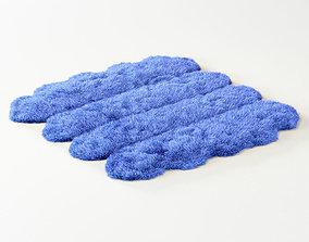 3D model Skin of merino blue