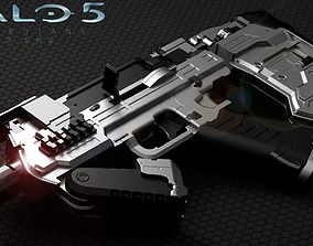 HALO 5 SMG 3D print model