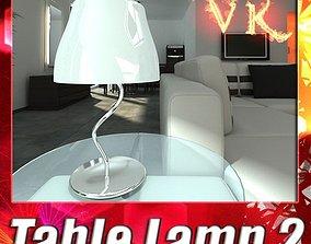 3D Modern Table Lamp 02 Circle T 28