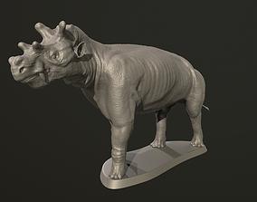 Uintatherium 3D print model