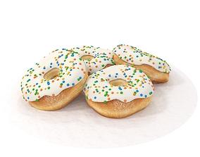 3D sprinkle Donuts