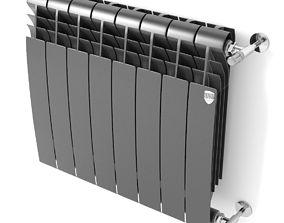 3D model Heating radiator BiLiner Noir Sable