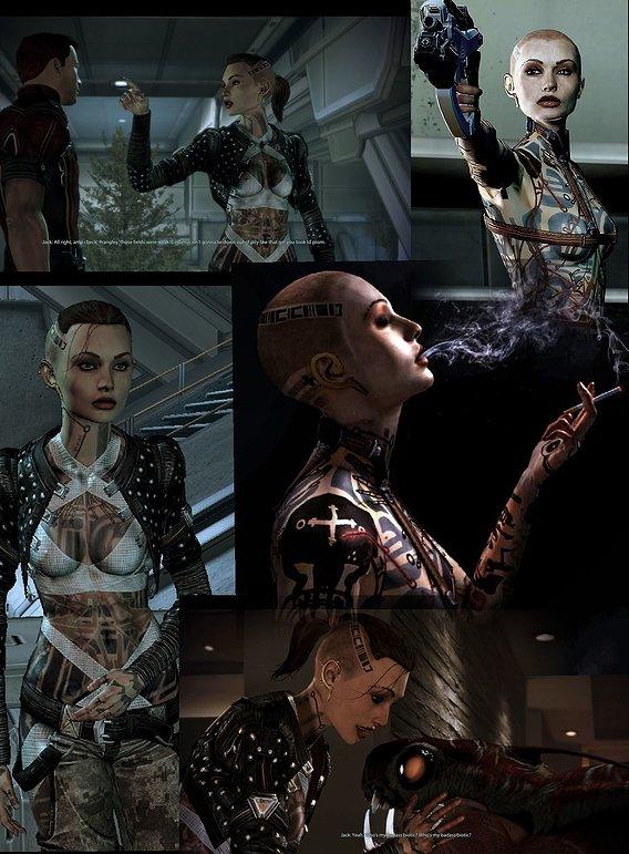 Jack ( Mass Effect 2) my favorite character