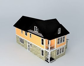 3D Little Townhouse
