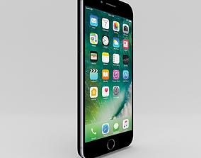 Apple iPhone 7 plus black 3D asset