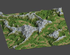 land1 3D model