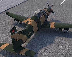 Hurkus C Airplane 3D model