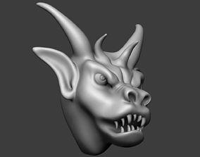 Gargoyle beast 3D print model