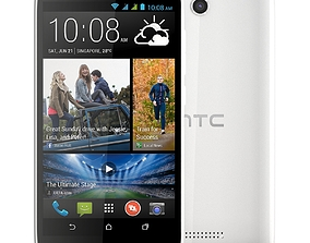 3D new HTC Desire 616 White