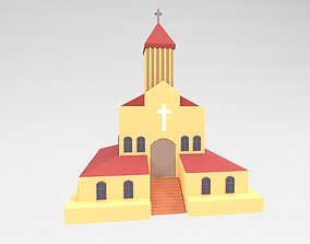 Church v1 001 3D asset