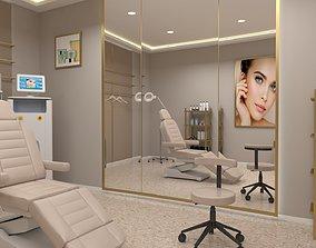 VR / AR ready Beauty clinic 3D model
