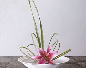lily flowers 3D