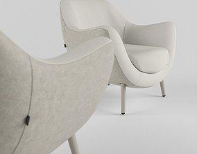 3D asset Mad queen type chair