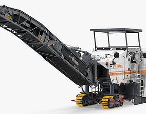 Wirtgen W2000 Asphalt Milling Machine Rigged 3D