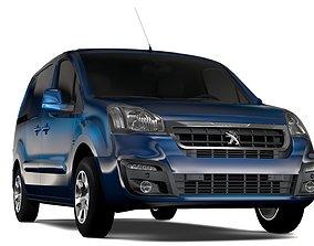3D model Peugeot Partner Van L1 2017