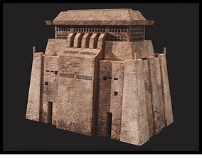 Jedha Central Building 3D model