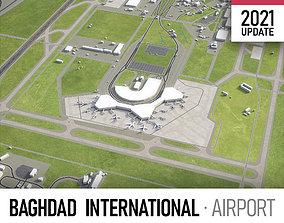 3D model Baghdad Airport
