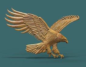 Eagle 3D print model art