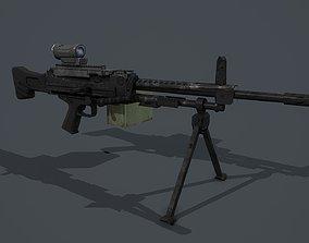 HeclerKoch 121 MG5 pack 3D asset