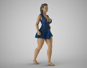 Plain Girl 3D print model