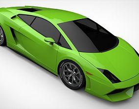 3D model Lamborghini Gallardo 2011