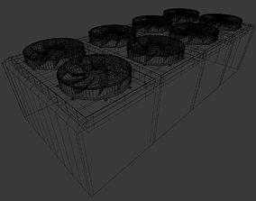 3D Industrial Ventilation Fan
