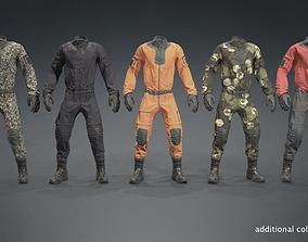 3D model Sci-fi Uniform Overalls