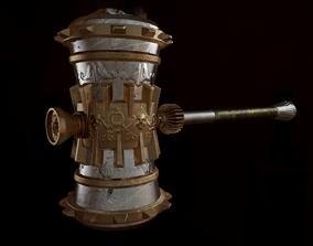 Fantasy Hammer 3D asset