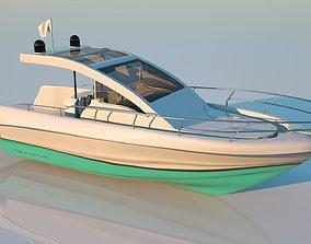 Speed boat base shape ship 3D model